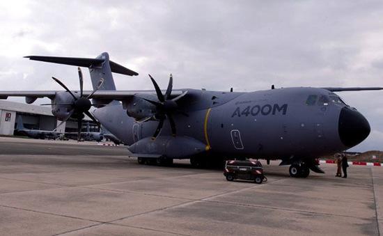 Nhiều quốc gia ngừng thử máy bay vận tải A400M