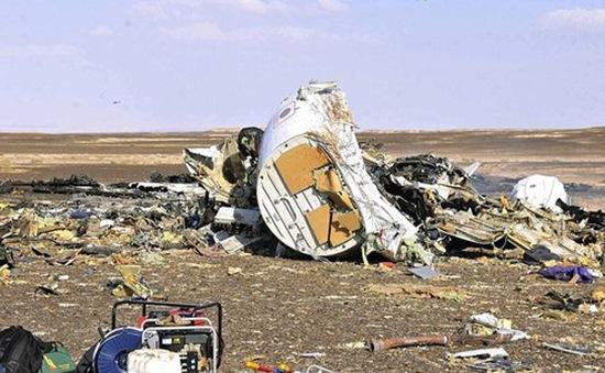 Máy bay Nga  gặp nạn tại Ai Cập có thể bị vỡ trước khi rơi
