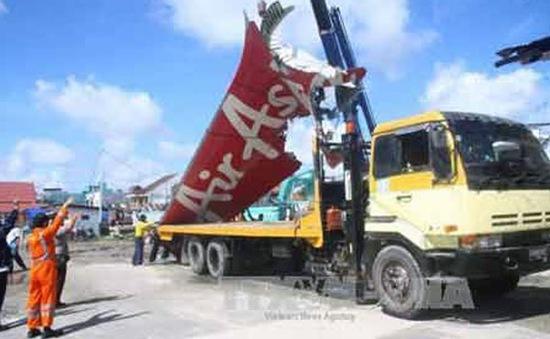 Indonesia kết thúc chiến dịch trục vớt máy bay AirAsia