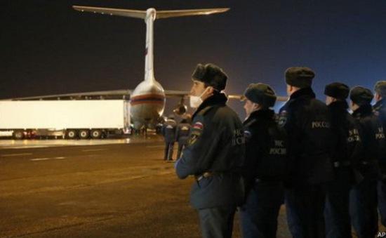 Còn quá sớm để có kết luận về vụ máy bay Nga gặp nạn