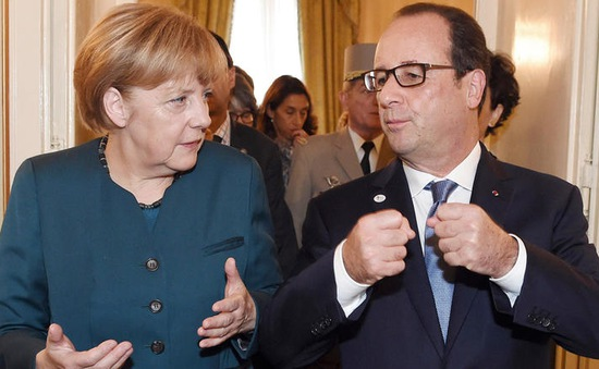 Pháp, Đức cam kết chung tay chống IS