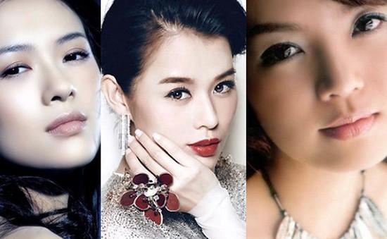 Tài sắc của những mĩ nữ châu Á tuổi Mùi