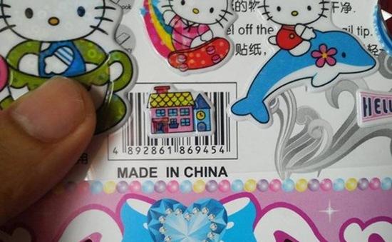 Miếng dán  đồ chơi chứa chất cấm Phthalates vượt ngưỡng hàng trăm lần