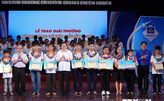 51 sản phẩm đoạt giải cuộc thi sáng tạo thanh thiếu niên, nhi đồng Hà Nội 2015