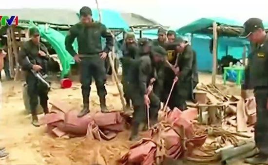 Cảnh sát Peru triệt phá 86 mỏ vàng khai thác trái phép