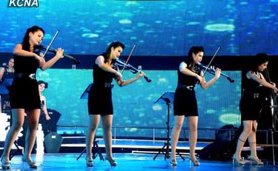 Ban nhạc nữ Triều Tiên tới Trung Quốc biểu diễn