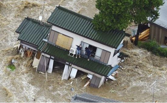 Nhật Bản: Mưa lớn chưa từng có trong 50 năm