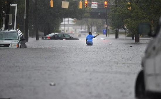 Mỹ: Ngập lụt nghiêm trọng tại bang Carolina, 3 người thiệt mạng