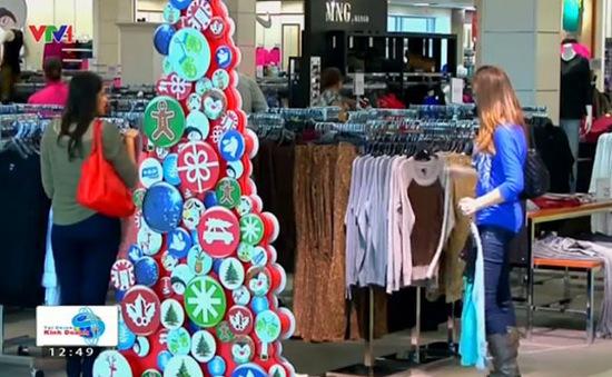 Mỹ: Doanh số ngành bán lẻ đạt kỷ lục trong hơn một thập kỷ