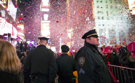 Mỹ: 6.000 cảnh sát bảo vệ quảng trường Thời đại trước thềm năm mới 2016