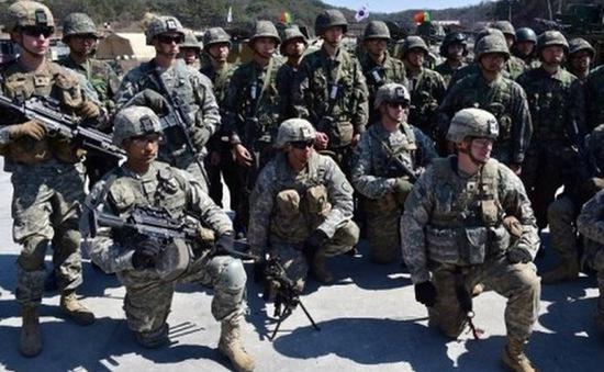 Mỹ nối lại cuộc tập trận với Hàn Quốc