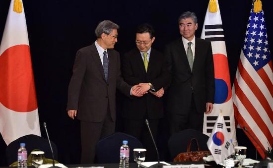 Hàn Quốc, Nhật, Mỹ nhất trí gia tăng sức ép với Triều Tiên