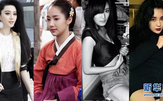 Phạm Băng Băng, Dương Mịch - Sao nữ có gương mặt đẹp nhất châu Á