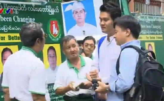 Người dân Myanmar kỳ vọng vào tương lai tươi sáng trước tổng tuyển cử