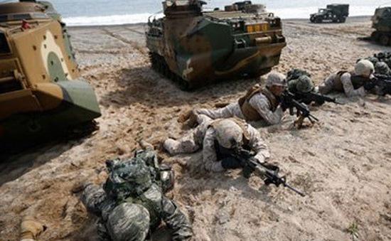Mỹ và Hàn Quốc tập trận chung
