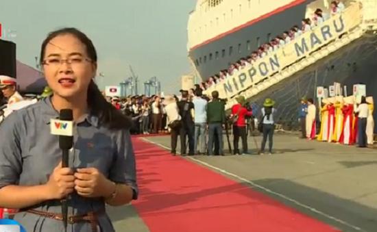 TP.HCM đón Tàu thanh niên Đông Nam Á