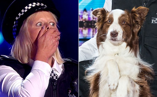 Chú chó lém lỉnh cùng chủ nhân đăng quang Britain's Got Talent 2015