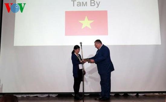 Cô giáo Việt Nam vào chung kết cuộc thi Giáo viên giỏi Ngữ văn Nga