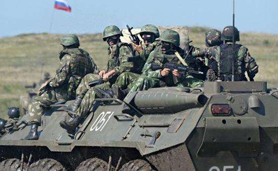 Lực lượng tinh nhuệ đặc biệt Nga diễn tập chống khủng bố