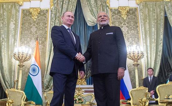 Nga - Ấn Độ đạt thỏa thuận quốc phòng trị giá 130 tỷ USD