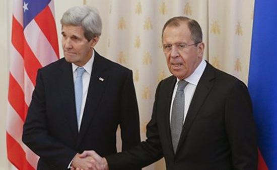Ngoại trưởng  Nga - Mỹ hội đàm về Syria