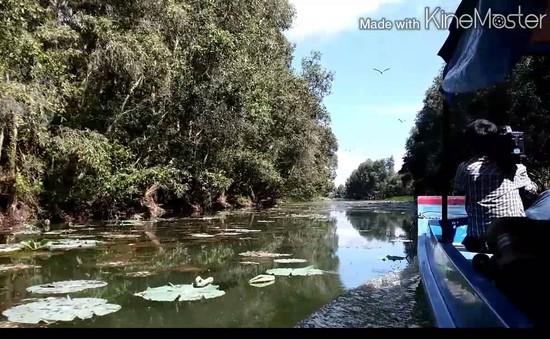 Khu bảo tồn đất ngập nước Láng Sen được công nhận là khu Ramsar thứ 7 của Việt Nam