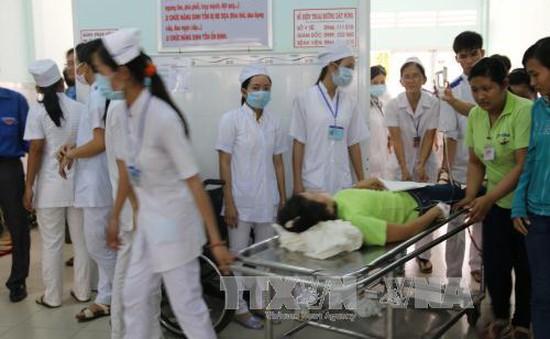 Phú Thọ: 10 nạn nhân nhập viện do nhiễm độc không khí