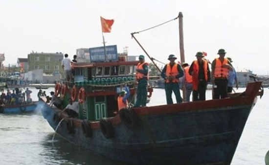 7 ngư dân Thanh Hóa bị mất tích trên biển