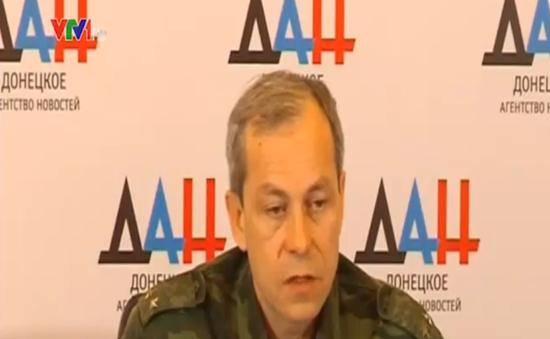 Phe ly khai đề xuất ngừng bắn tạm thời tại miền Đông Ukraine