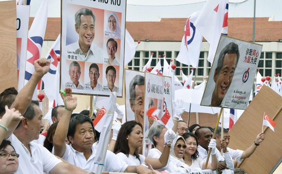 Singapore bước vào cuộc tổng tuyển cử lịch sử