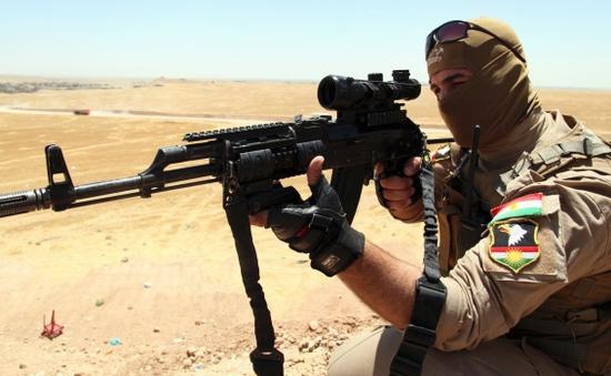 Lực lượng người Kurd giành quyền kiểm soát cửa khẩu chiến lược từ IS