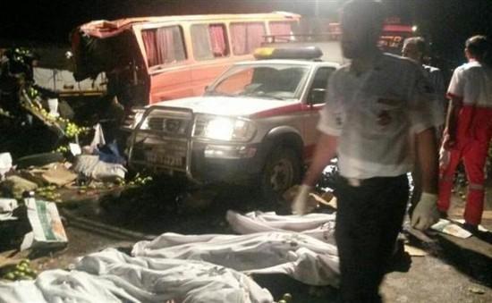 20 người di cư thiệt mạng trong tai nạn thảm khốc ở Iran