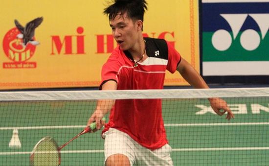 Giải cầu lông quốc tế Việt Nam mở rộng: Hoàng Nam giành vé vào vòng đấu chính