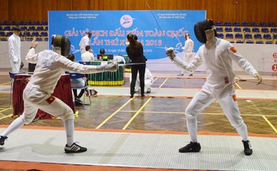 Phương Hồng giành HCV đầu tiên cho đấu kiếm Bình Phước