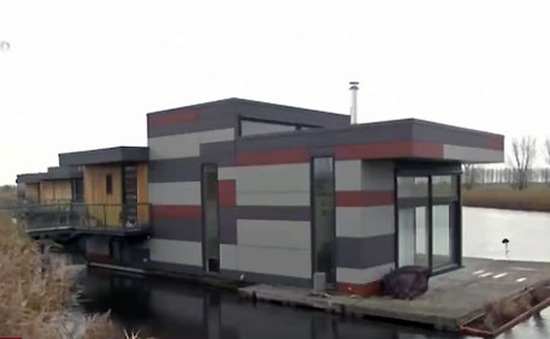 Nhà nổi tại Hà Lan - Giải pháp cho tình trạng thiếu đất xây nhà