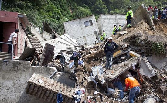 Mexico hỗ trợ Guatemala trong thảm họa lở đất