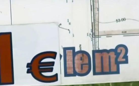 Pháp: Ưu đãi giá đất giá 1 euro/m2