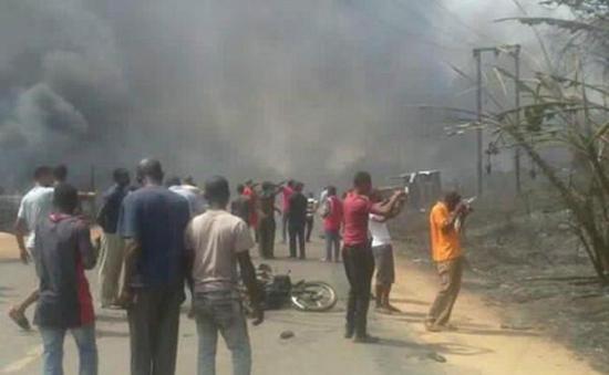 Nigeria: Nổ nhà máy khí đốt hóa lỏng, hơn 100 người thiệt mạng