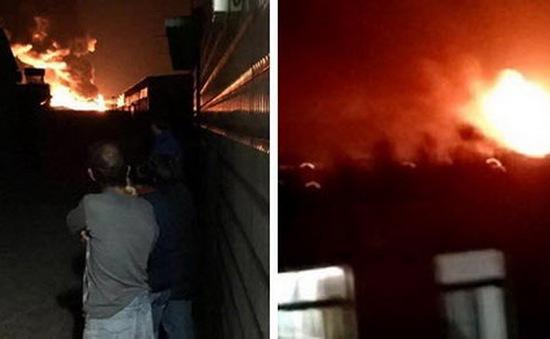 Lại nổ nhà kho ở Thiên Tân, Trung Quốc