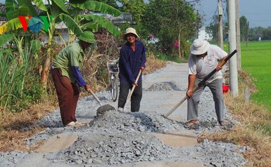 Mục tiêu 50% số xã đạt chuẩn nông thôn mới giai đoạn 2015 - 2020