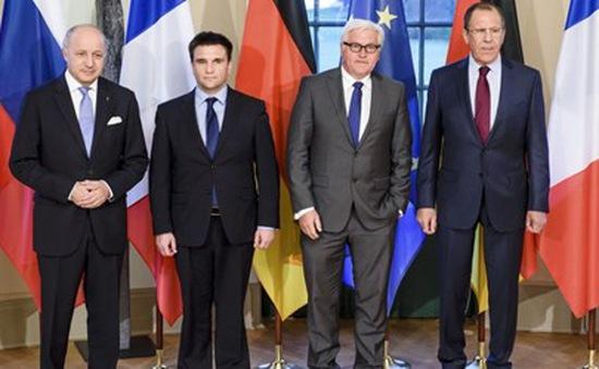 Kết thúc cuộc họp cấp Ngoại trưởng Bộ tứ Normandie