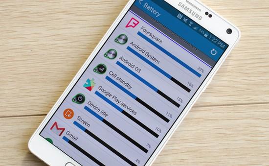 4 giải pháp tăng thời lượng pin cho Galaxy Note 4