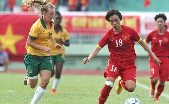 ĐT bóng đá nữ Việt Nam thua ĐT Australia trong trận tranh hạng 3