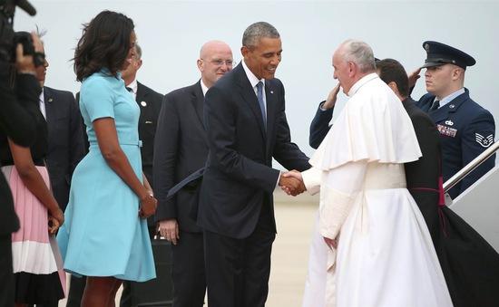Giáo hoàng Francis bắt đầu chuyến thăm đầu tiên tới Mỹ