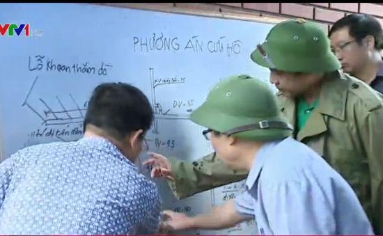 Vụ tai nạn hầm lò tại Quảng Ninh: Khẩn trương giải cứu công nhân bị mắc kẹt