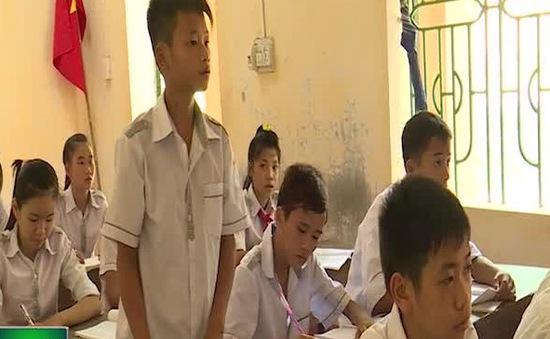 Thái Nguyên: Cơ sở vật chất trường THCS Minh Tiến còn nhiều thiếu thốn