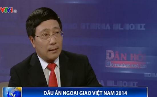 Những dấu ấn ngoại giao Việt Nam năm 2014
