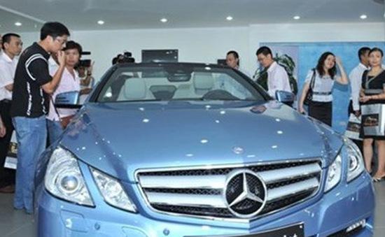 Đề xuất tăng thuế tiêu thụ đặc biệt xe sang lên gấp đôi