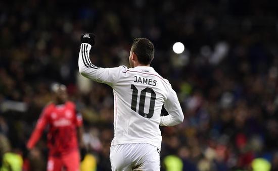 """James Rodriguez sẽ là """"nhạc trưởng"""" Real ở trận derby Madrid?"""