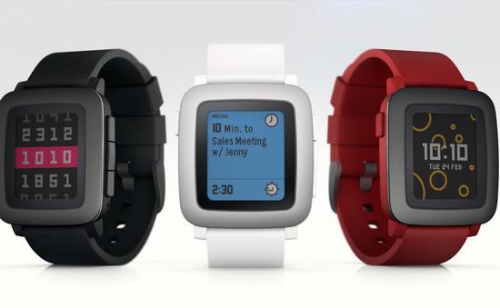 Đồng hồ Pebble Time cán mốc 20 triệu USD trên Kickstarter